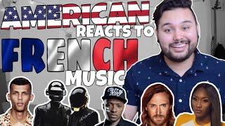 American REACTS // French Music