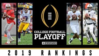 College Football Playoff Rankings: Ohio State opens at No. 1 | CBS Sports HQ