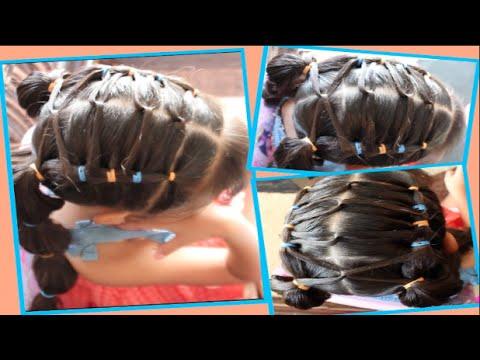 Peinados De Ninas Con Ligas Faciles De Hacer