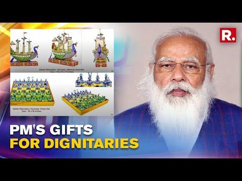 Modi presents Kamala Harris, Australian and Japanese PMs unique gifts