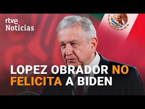 LOPEZ OBRADOR y BOLSONARO únicos MANDATARIOS que aún no FELICITAN a JOE BIDEN I RTVE