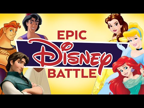 Princesses vs Princes Epic Disney Battle (Mulan - I'll make a man out of You)