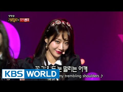 9MUSES A - Lip 2 Lip   나인뮤지스A - 입술에 입술 [Music Bank / 2016.12.23]