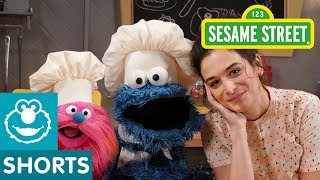 Sesame Street: Making Fruit Sushi with Jenny Slate   Cookie Monster's Foodie Truck
