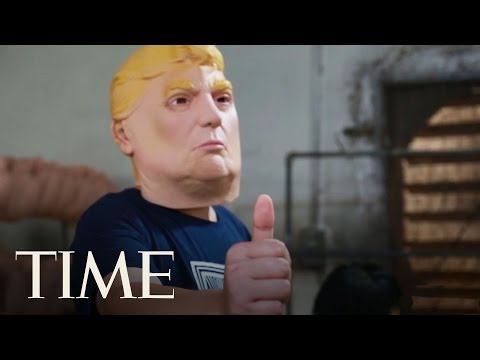 Making Trump Masks In China: Behind The Factory's Booming Business   TIME