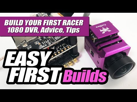 EASY FIRST BUILDS - F4 AIO Flight Controllers with 1080p DVR - Review, Tips & Advice
