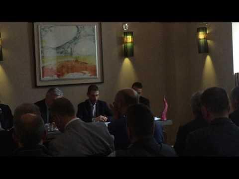 Alessio Crisantemi presentazione libro 'La questione territoriale' a Napoli