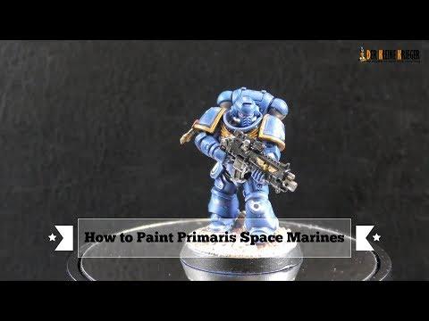 How to Paint Primaris Space Marines