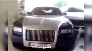 مخمور يحطم رولز رويس ومرسيدس في فندق شيراتون الدوحة     -