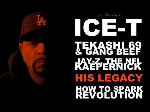 Ice-T Talks About Tupac, Tekashi 69, Pre-Gangsta Rap LA, Jay-Z/Kaepernick/NFL And His Legacy!
