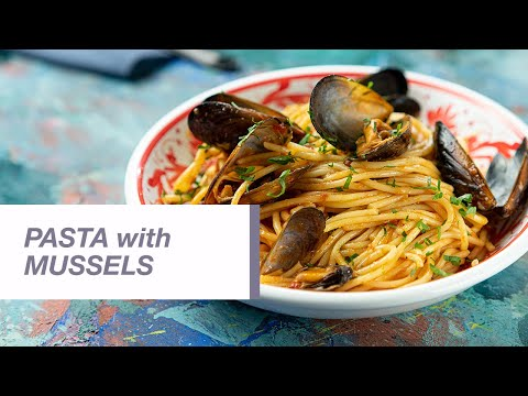 Pasta with Mussels and Tomato Sauce | Food Channel L Recipes