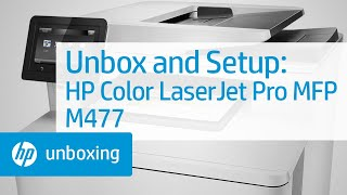 Unboxing And Setting Up The Hp Laserjet Mfp M436nda Printer