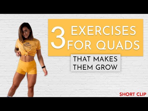 Do These 3 Exercises To Build Your QUADS!