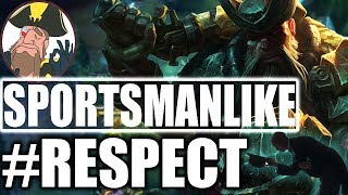 Tobias Fate - BEING A SPORTSMANLIKE, Never Kill A DC Wow! | League of Legends