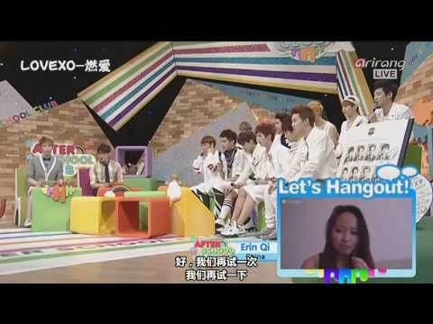 【LOVEXO字幕組】130612 阿里郎After School Club EXO (中字)