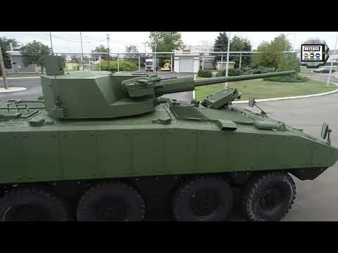 Lazanski Yugoimport 8x8 armored vehicle IFV with AU-220m 57mm cannon technical review Partner 2021