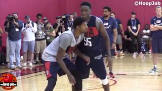 Paul George vs Victor Oladipo 1 on 1 USA Basketball Practice 2018 HoopJab NBA
