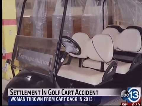 Settlement Reached in Golf Cart Accident (ABC 13)