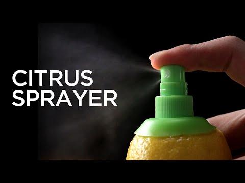 Citrus Fruit Sprayer