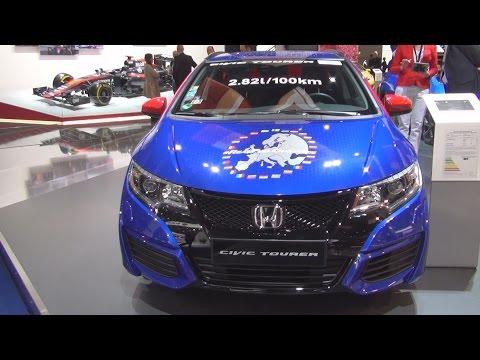Honda Civic Tourer 1.8 Lifestyle (2016) Exterior and Interior in 3D