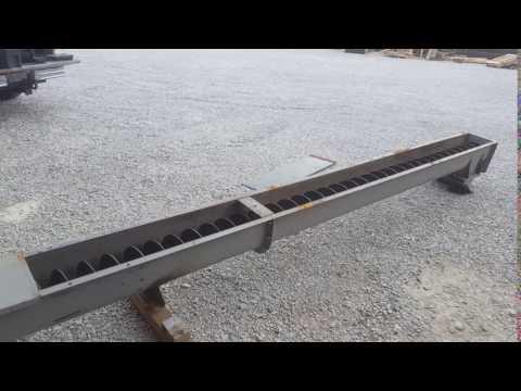 """Used 9""""Ø x 24' Screw Conveyor"""