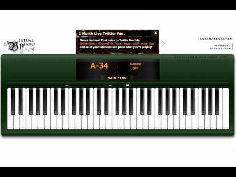 Virtual Piano - My Immortal, Evanescence(intro)