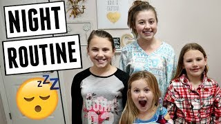 Our Large Family School Night Routine!