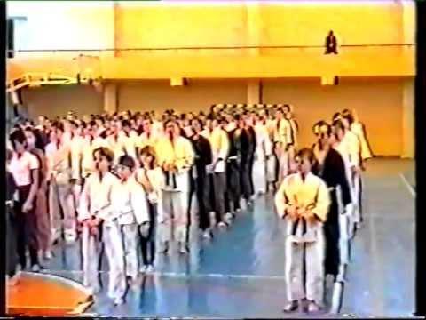 экзамен по каратэ 1994 год. Одесса
