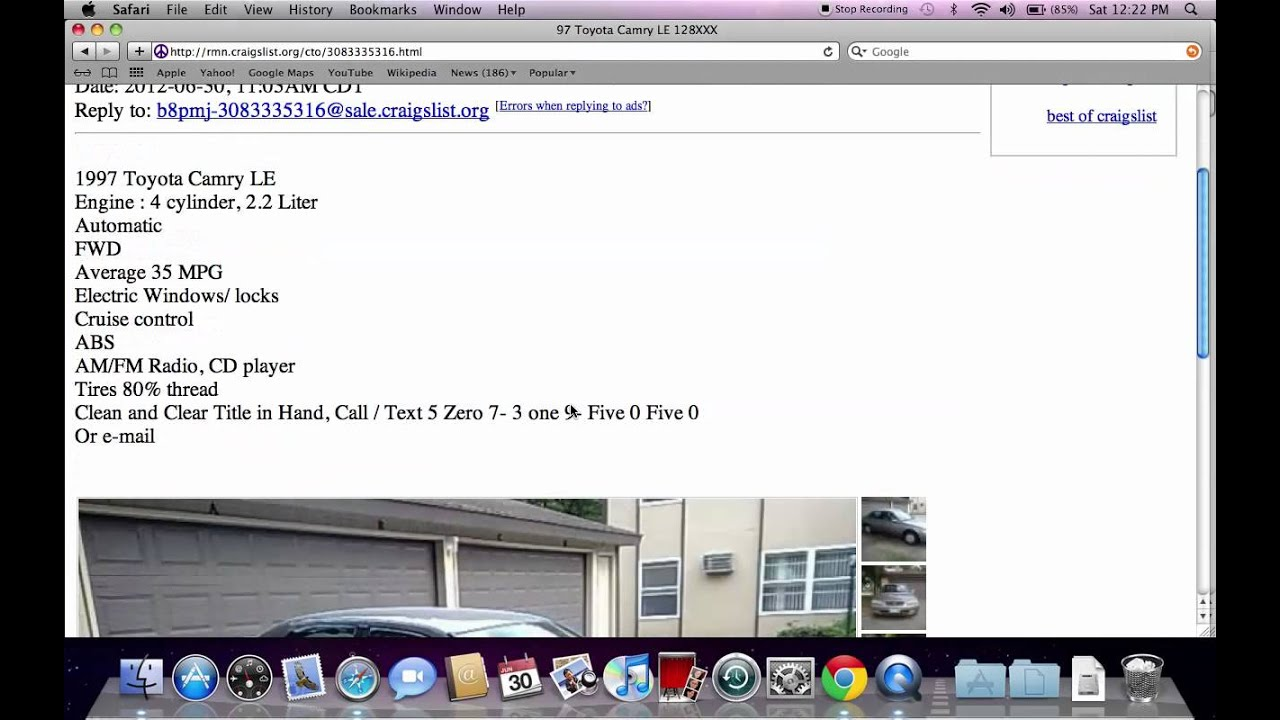 Craigslist Rochester MN Used Cars