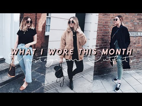 WHAT I WORE THIS MONTH | I Covet Thee
