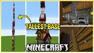 I Built the Tallest Minecraft Base Possible..