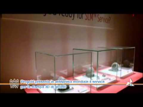 Progold presenta in anteprima mondiale il service per la stampa 3D di gioielli