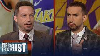 Chris Broussard doubts the Lakers would trade LeBron James to Sixers | NBA | FIRST THINGS FIRST