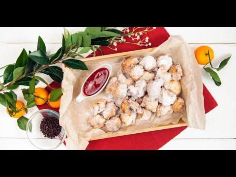 Буньюэлос с ягодно-фруктовым соусом | ДЕСЕРТация про Испанию