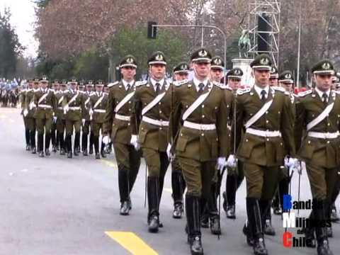 Desfile Conmemorativo 234º Natalicio del Libertador General Bernardo O'Higgins R.