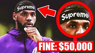 7 Accessories BANNED In The NBA This Season (LeBron James | Kyrie Irving | Kobe Bryant)