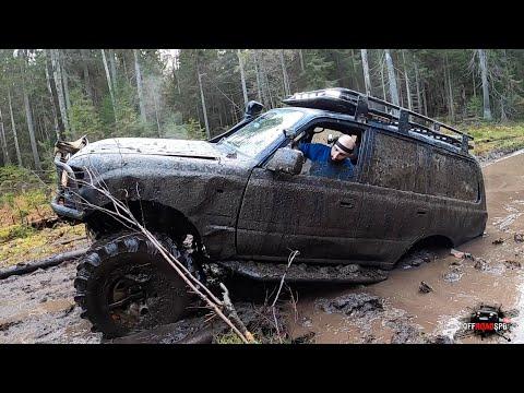 Нашли Беку и отличную грязь в лесу) Юлик тестирует jimny)