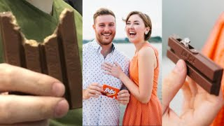 Boyfriend Shamed for Eating Kit Kat Wrong Redeems Himself With Unique Proposal