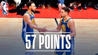 Stephen Curry & Klay Thompson Combine For 57 Points in Game 5   2019 NBA Finals