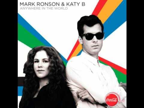 Mark Ronson & Katy B - Anywhere in the World - Radio Edit (HQ)