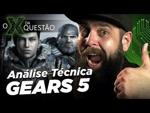 Análise Técnica de Gears 5 - por Gotikozzy