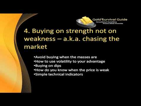 7 Deadliest Mistakes When Buying Gold and Silver Video #4