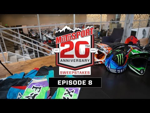 The MotoSport.com 20th Anniversary Sweepstakes | Episode 8