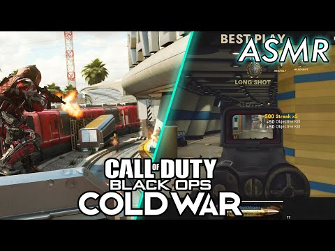 ASMR GAMING   Call Of Duty: ColdWar   New DLC Map Express 24/7 ~ ASMR Music & Whispering