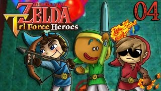 video : Siphano Zelda Tri Force Heroes #04 : TEMPLE DE L'EAU en vidéo