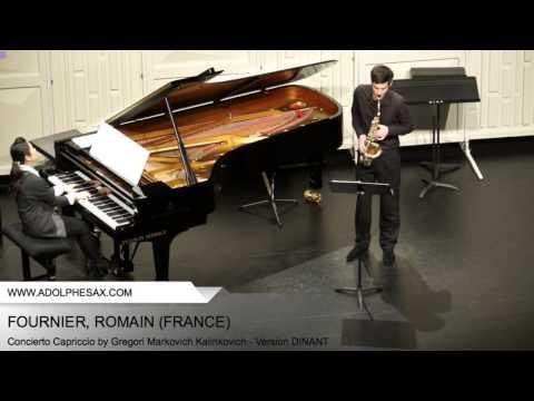 Dinant 2014 - Fournier, Romain - Concerto Capriccio by Gregori Markovich Kalinkovich