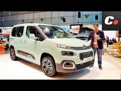 Citroe?n Berlingo / Peugeot Rifter (Partner) | Salón de Ginebra 2018 en español | coches.net