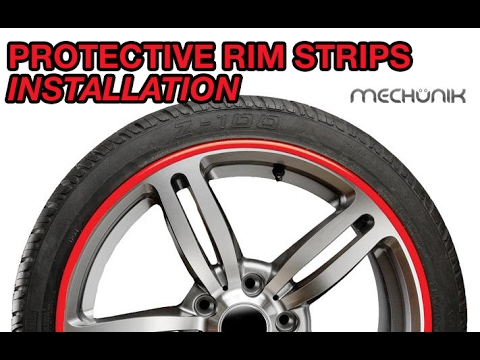 Mechunik Protective Wheel Strips