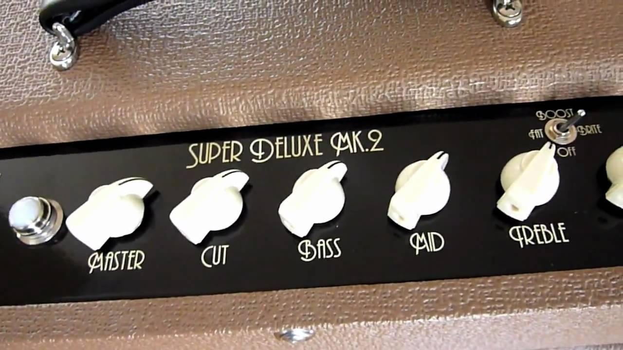 top hat super deluxe fat sound guitars amp demo by greg v youtube. Black Bedroom Furniture Sets. Home Design Ideas