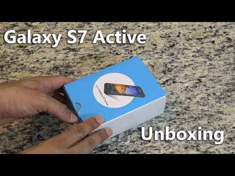 The Samsung Galaxy S7 Active Unboxing (AT&T)